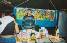 The PartySmart booth at 'Dreamscapes 2005,' 8/27/2005