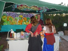 The PartySmart booth at 'Earthdance 2005,' 9/17/2005