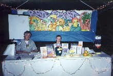 The PartySmart booth at 'Junebug 2002,' 6/1/2002