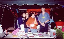 The PartySmart booth at 'Junebug,' 6/3/2000