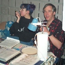 The PartySmart booth at 'Sno-Wonder,' 1/20/2001